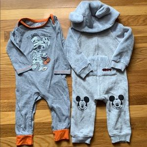 Disney Baby Mickey Mouse 2 Piece Lot